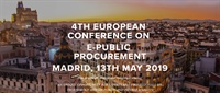 4th European Conference on e-Public Procurement - How to Contract Complex and Technologic Services?