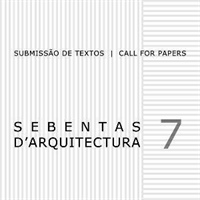 Sebentas d'Arquitectura: call for papers