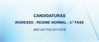 Ingresso na Universidade Lusíada: candidaturas para a 3.ª fase (regime normal).